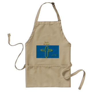 Jesus is our saviour! adult apron