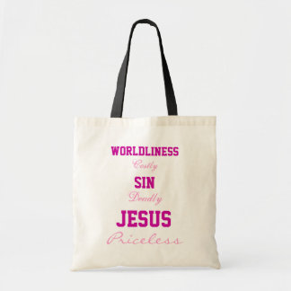 Jesus is Priceless Bag
