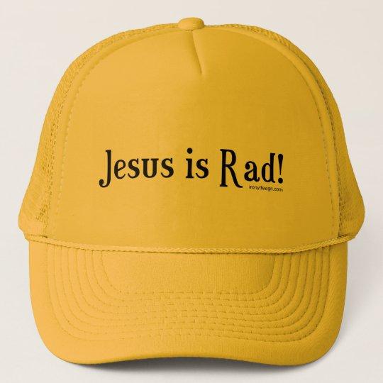 Jesus Is Rad Hats