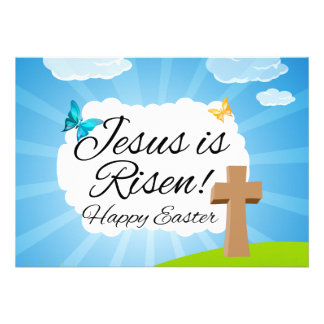 Jesus is Risen Christian Easter Cards