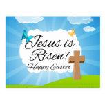 Jesus is Risen, Christian Easter Postcards
