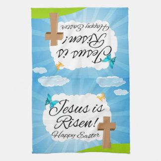 Jesus is Risen, Christian Easter Towel