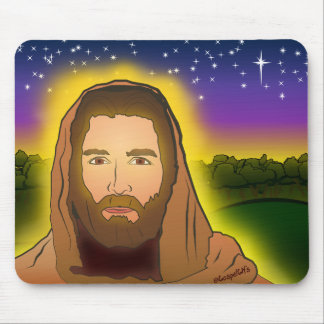 Jesus Is Risen From the Dead Mouse Mat