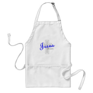 Jesus is the answer adult apron