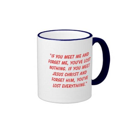 Jesus is the key mug