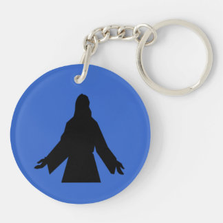 Jesus Is the Key Rouind Key Chain