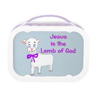 Jesus Is the Lamb of God Lunchbox Yubo Lunch Box