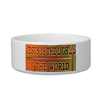 JESUS IS THE LIGHT BOWL