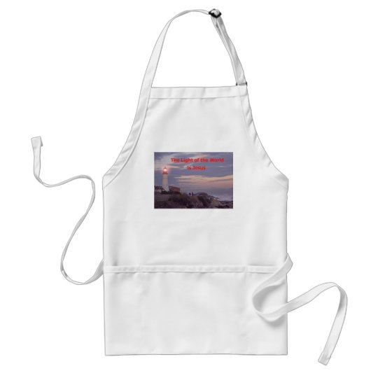 Jesus is the Light of the World! Adult Apron