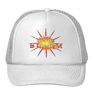 Jesus is the light plat 3D Mesh Hat