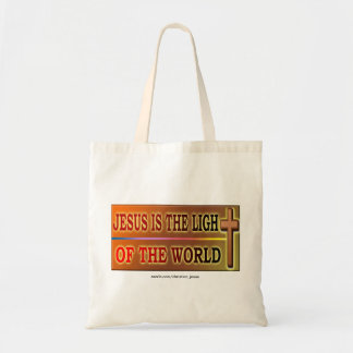 JESUS IS THE LIGHT TOTE BAG