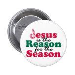 Jesus is the Reason 2 Inch Round Button