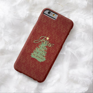 Jesus is the Reason Christian Christmas Barely There iPhone 6 Case