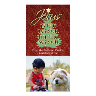 Jesus is the Reason Christian Christmas Card