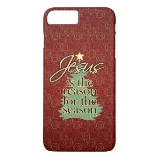 Jesus is the Reason Christian Christmas iPhone 7 Plus Case