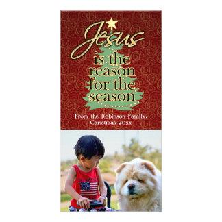 Jesus is the Reason Christian Christmas Photo Card