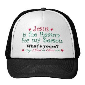 Jesus is the Reason for my Season Trucker Hat