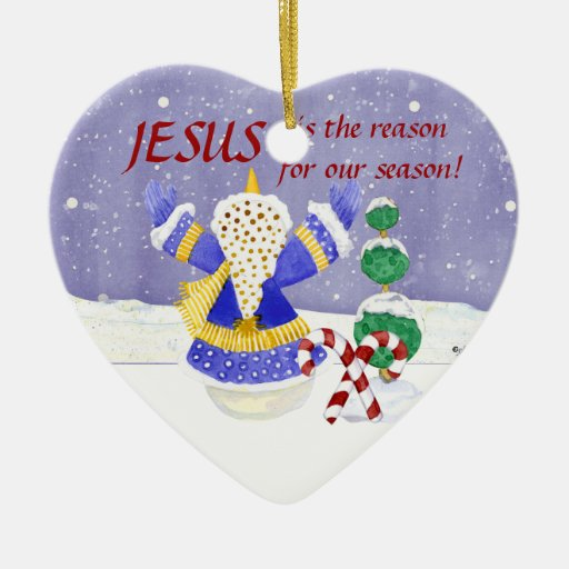 Jesus is the reason for our season  Ornament