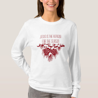 JESUS IS THE REASON FOR SEASON Christmas quote T-Shirt