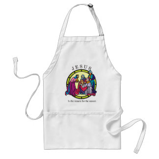Jesus is the Reason for the Season Adult Apron