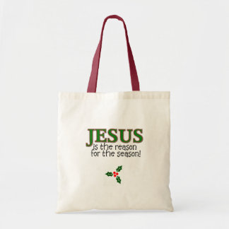 Jesus Is The Reason For The Season Budget Tote Bag