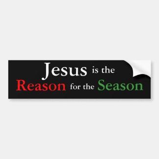 Jesus is the Reason for the Season Bumper Sticker