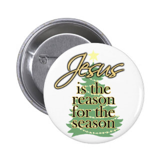 Jesus is the Reason for the Season, Christmas Button