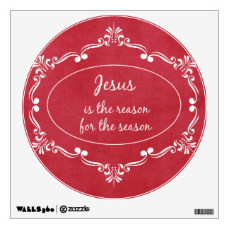Jesus is the reason for the Season Christmas Wall Sticker