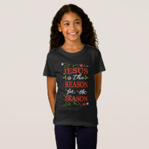 Jesus Is The Reason For The Season Folksy T-Shirt