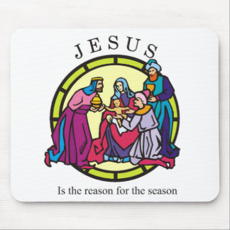 Jesus is the Reason for the Season Mouse Pads
