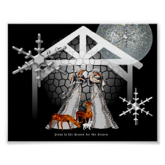 Jesus is the Reason for the Season. Poster