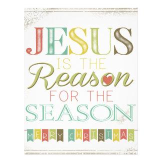 Jesus is the reason letterhead