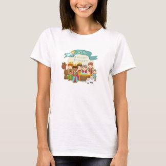 """Jesus is the Reason"" Nativity Christmas T-Shirt"