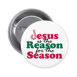 Jesus is the Reason Pinback Button
