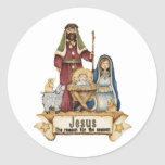 Jesus Is The Reason Stickers