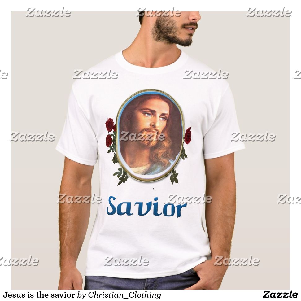 Jesus is the savior T-Shirt - Best Selling Long-Sleeve Street Fashion Shirt Designs