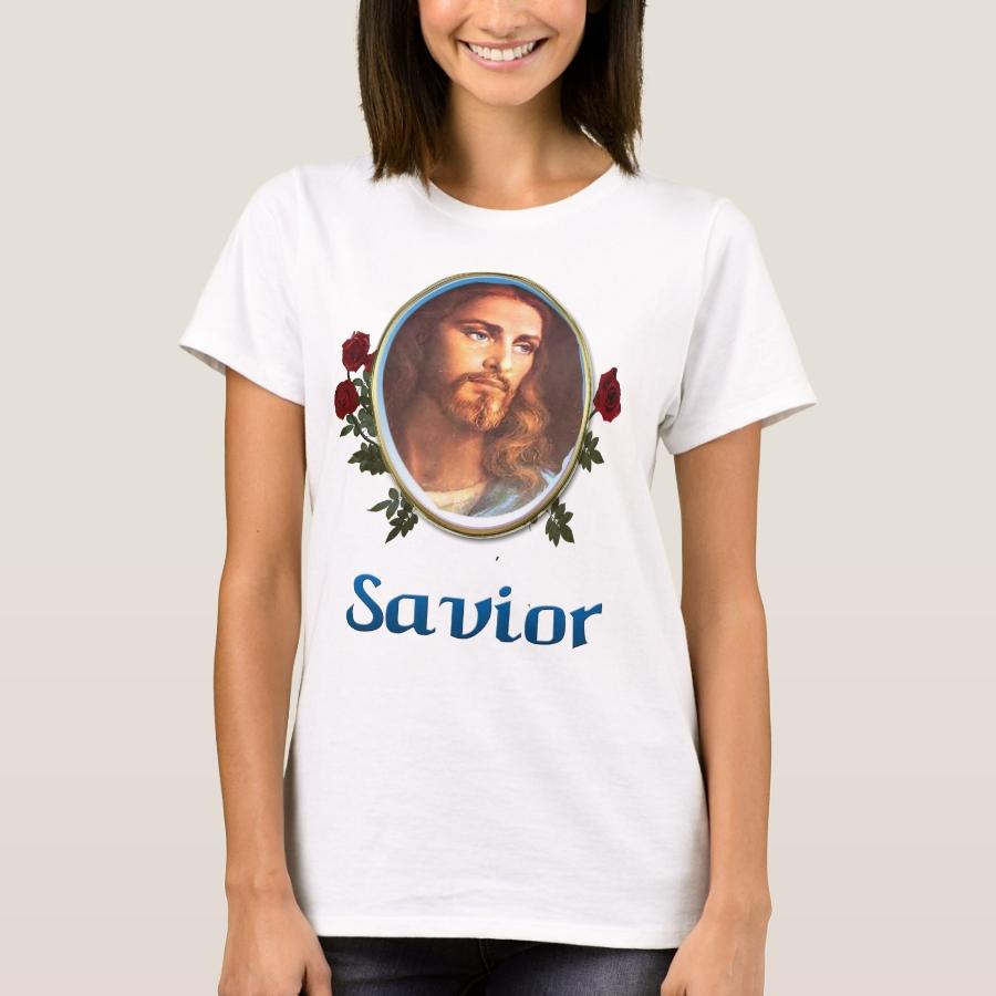 Jesus is the savior T-Shirt - Best Selling Long-Sleeve Street Fashion Shirt Designs
