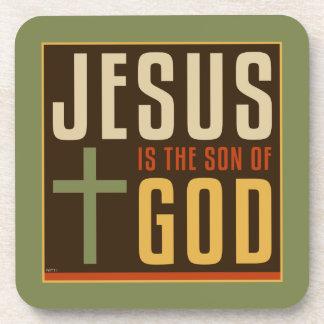 Jesus Is The Son of God Beverage Coaster