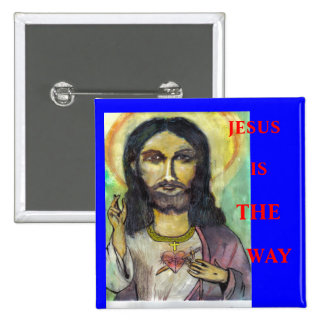 JESUS, IS, THE, WAY BUTTON