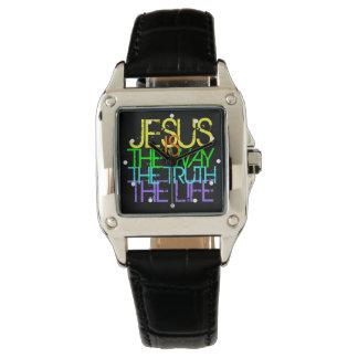 Jesus is the Way, Christian Women's Wristwatch