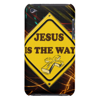 JESUS IS THE WAY iPod TOUCH COVER