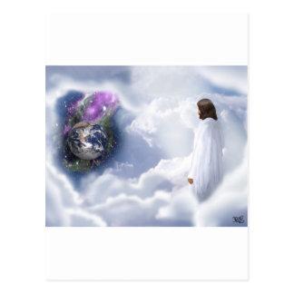 Jesus is Watching Postcard