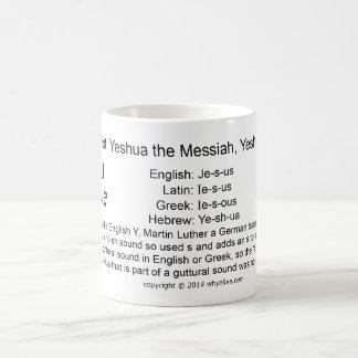 Jesus is Yeshua Coffee Mug