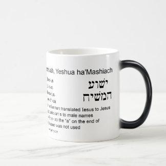 Jesus is Yeshua Magic Mug