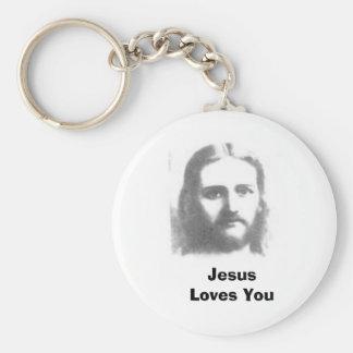 jesus, Jesus Loves You Key Chains