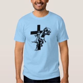 Jesús jurásico remeras