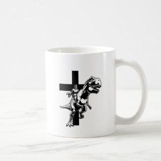 Jesús jurásico taza clásica