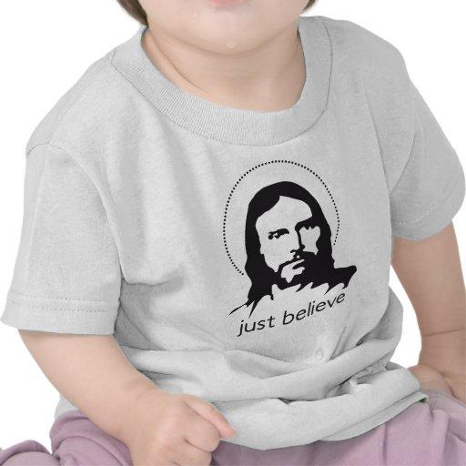 jesus just believe t-shirts