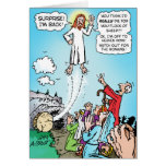 Jesus KINDA died for our sins! Card