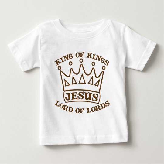 JESUS king of kings brown Baby T-Shirt